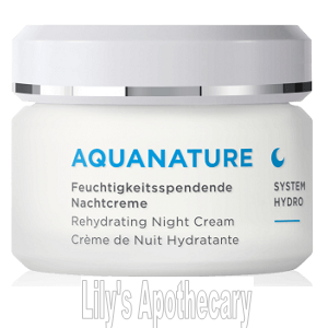AquaNature Rehydrating Night Cream - Combination Skin