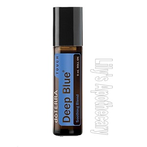 Deep Blue Rollerball - Soothes Muscles and Pain Relief