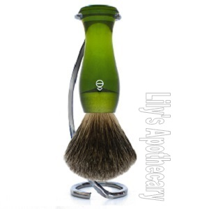 Green Brush & Twist Stand