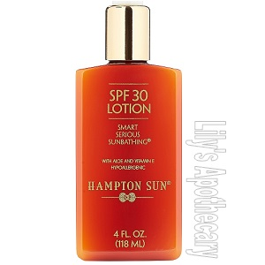 SPF 30 Lotion In A Pump