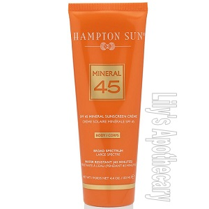 SPF 45 Mineral Creme For The Body
