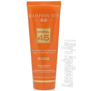 SPF 45 Mineral Creme For The Body 30% OFF