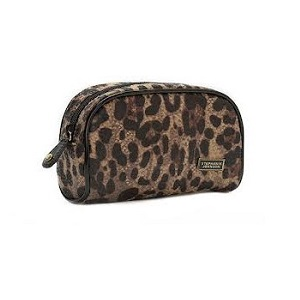 Leopard Mini Makeup Case